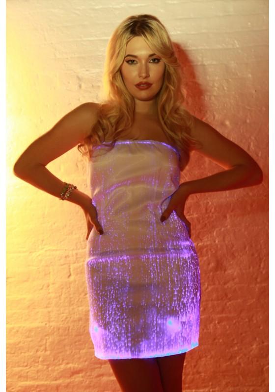 Fiber Optic Cocktail Dress