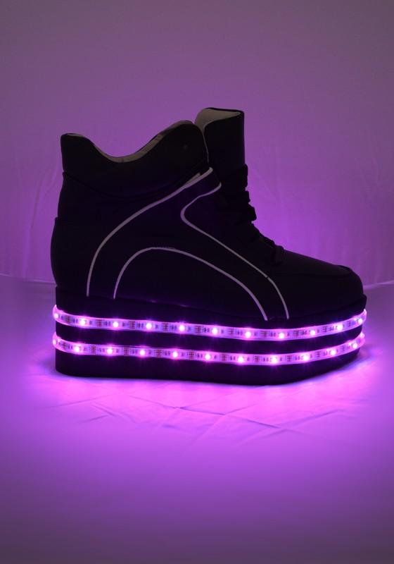 3fe5492401bf Light-up LED Platform Shoes