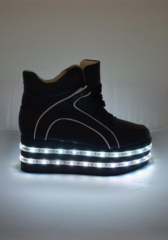 93afe39e29f42f Light-up LED Platform Shoes