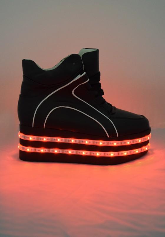 reputable site 5eef5 fb7df Light-up LED Platform Shoes