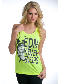 """""""After After Hours"""" Tank - Yellow"""