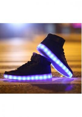 435b95ad218 Light-up Midtop Shoes – Black