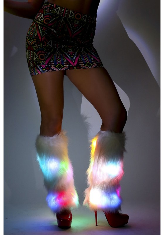 Glow Fur LED Fluffies