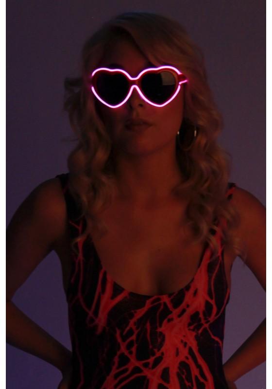 Light-up Heart Glasses
