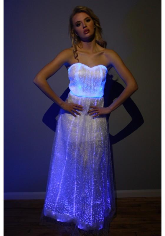 Fiber Optic Gown Dress