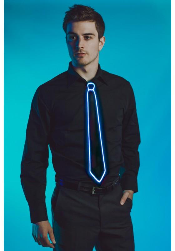Light Up Tie Blue